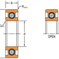 美国TIMKEN 6304 深沟球轴承 原装现货