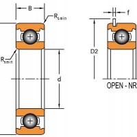 美国TIMKEN 深沟球轴承 6204-NR 原装进口