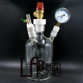玻璃压力瓶 玻璃正压瓶 玻璃压力瓶定制