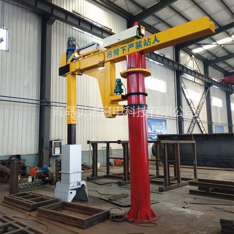 铸造厂用15吨悬挂式电炉捞渣机 熔炉捞料机