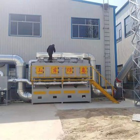 绿岛环保 催化燃烧设备 活性炭催化燃烧家具厂催化燃烧设备