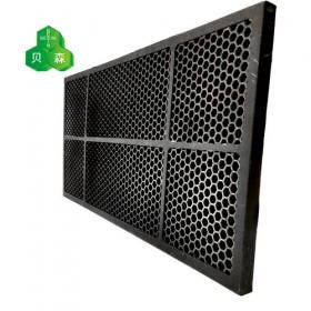 填充柱状炭活性炭高效吸附分解过滤网