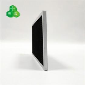 苏州贝森活性炭铝箔网与菱形铝网复合基材除甲醛过滤网