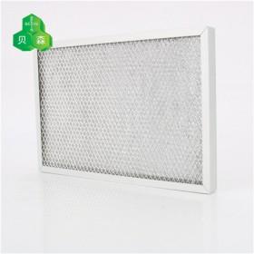 苏州贝森铝箔网与菱形网复合初效过滤网