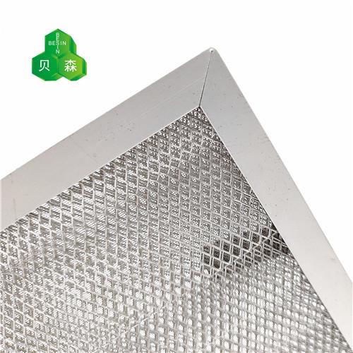 苏州贝森铝网与不锈钢网复合初效过滤网