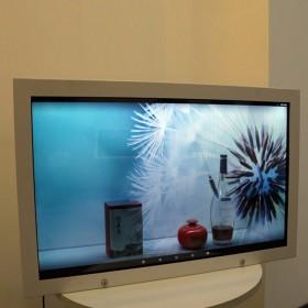 32寸-100寸液晶透明展示机柜 商超展览产品