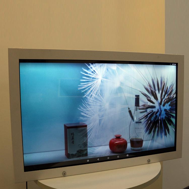 43寸-86寸液晶透明展示机柜 商城展览设备