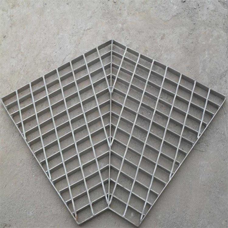 厂家直销沟盖钢格栅板 钢格板 梯踏板  排水沟盖板