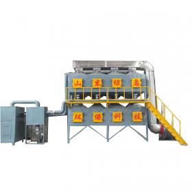催化燃烧设备  催化燃烧净化环保设备  免费咨询