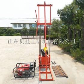 地质勘探立式钻机 小型岩心取样钻井机械设备 取芯取样钻机