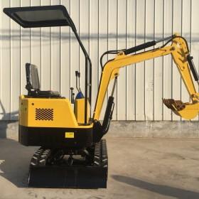 小型挖掘机1吨2吨工程挖机果园挖土钩机履带