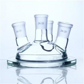 玻璃反应釜  实验玻璃瓶  及加工定制