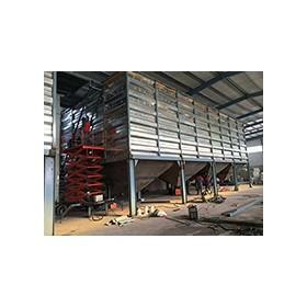 网红仓储设备方形钢板粮仓上线打卡