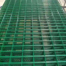 护栏网供应高速公路隔离防护双边丝护栏网园林圈地铁丝围栏护栏网