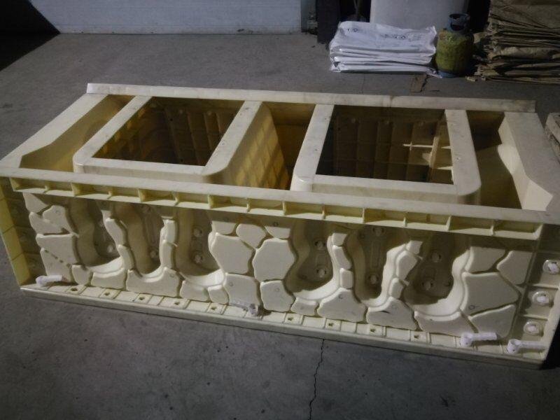 水泥阶梯护岸塑料模板
