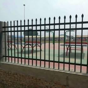现货锌钢护栏铁艺围栏小区护栏学校围墙别墅隔离栏防护锌钢护栏