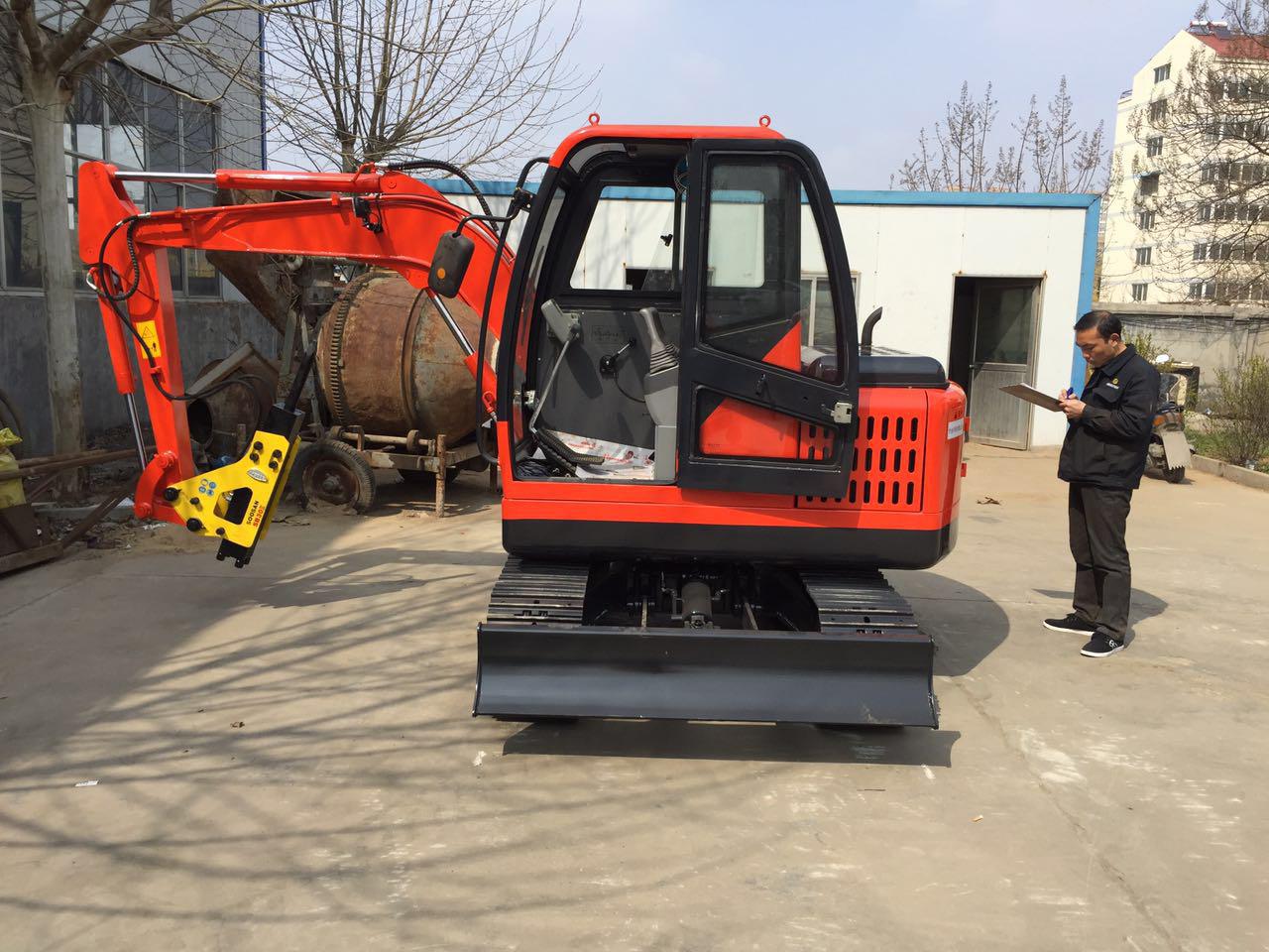 立派2吨1小型挖掘机农用多功能小挖机全新建筑工程用
