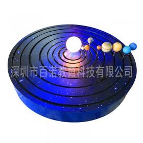 厂家直供太阳系八大行星公转演示模型