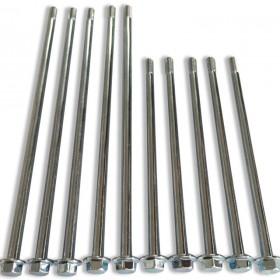 机械设备专用长杆件,法兰加长螺丝,电机马达用加长螺丝