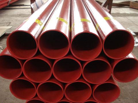 涂塑钢管的制造流程
