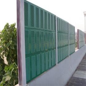 道路声屏障 厂区PC板透明隔音屏 学校小区弧形隔音厂家