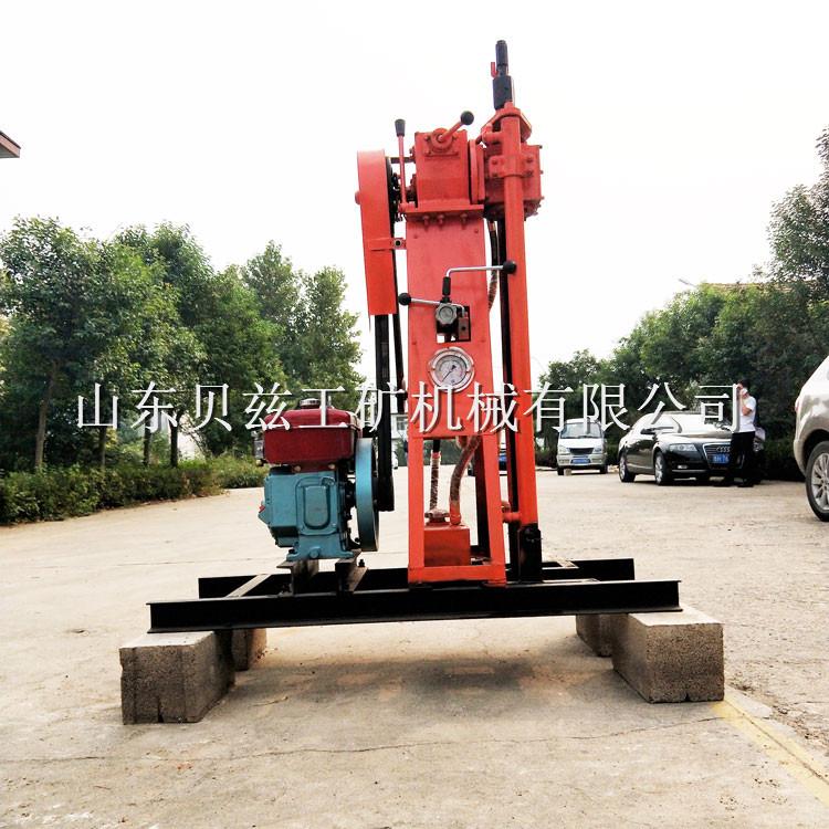 厂家直供 BZ-50L液压轻便钻机 山地工程地质勘探钻机