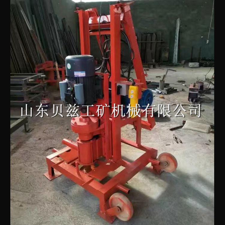 现货 小型电动打井机 家用农用工程钻井机 折叠式钻机