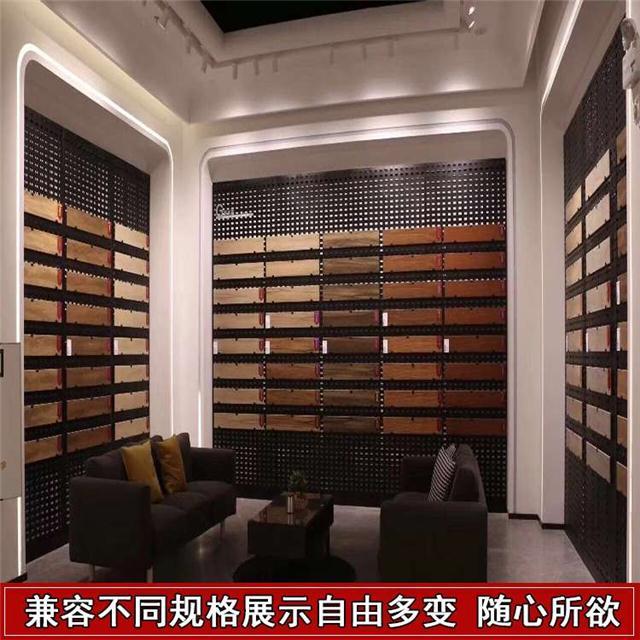 集成吊顶铝扣板展示架橱柜门板石材玻璃样品展示架