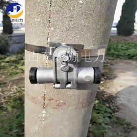 自承式光缆 切线线夹 50-100米小档距电力光缆悬垂金具