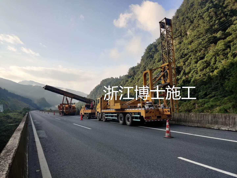 丽水18米臂架式桥检车出租,就找浙江博仕