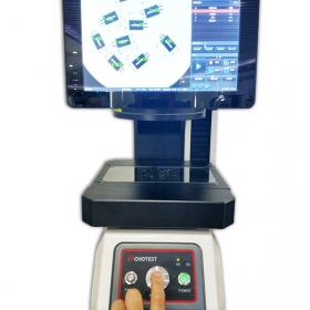 中图仪器一键式测量仪轻松搞定五金冲压件尺寸测量