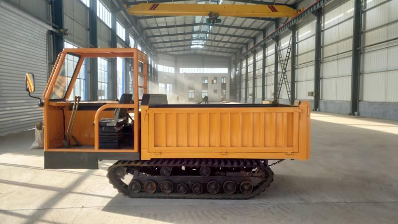 履带运输车价格3吨橡胶履带运输机四驱农用爬山王自卸车