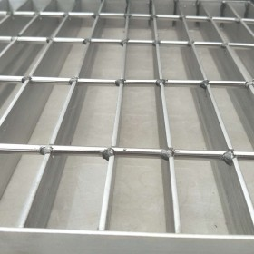 热镀锌钢格板直销插接式钢格栅板防滑楼梯格栅耐压钢梯踏步板