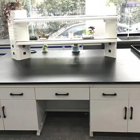 昭通实验台 钢木实验台 实验边台定制