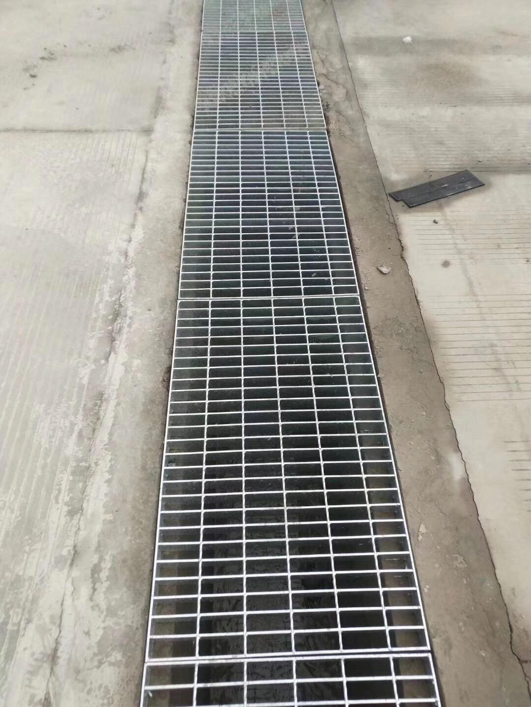 镀锌钢格栅盖板厂家小区工地排水沟盖板批发定制水沟盖板
