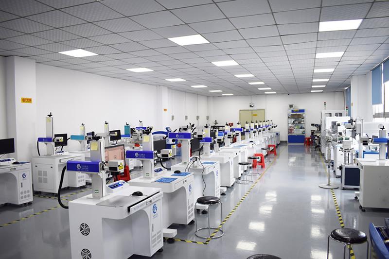 二氧化碳紫外光纤氧化铝激光打标机厂家直供可打口罩额温枪