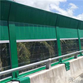 厂家直销声屏障公路桥梁百叶镀锌板百叶孔隔音板铁路镀锌板声屏障