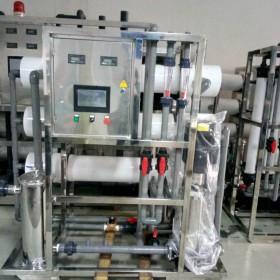 句容纯净水设备美容院护肤3吨ro反渗透纯水机厂家定制