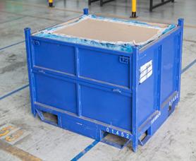 苏州金属箱生产厂家 金属物流箱 金属周转箱