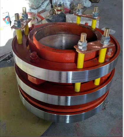 钢质电机集电环 YRKK高压电机滑环 华海定制