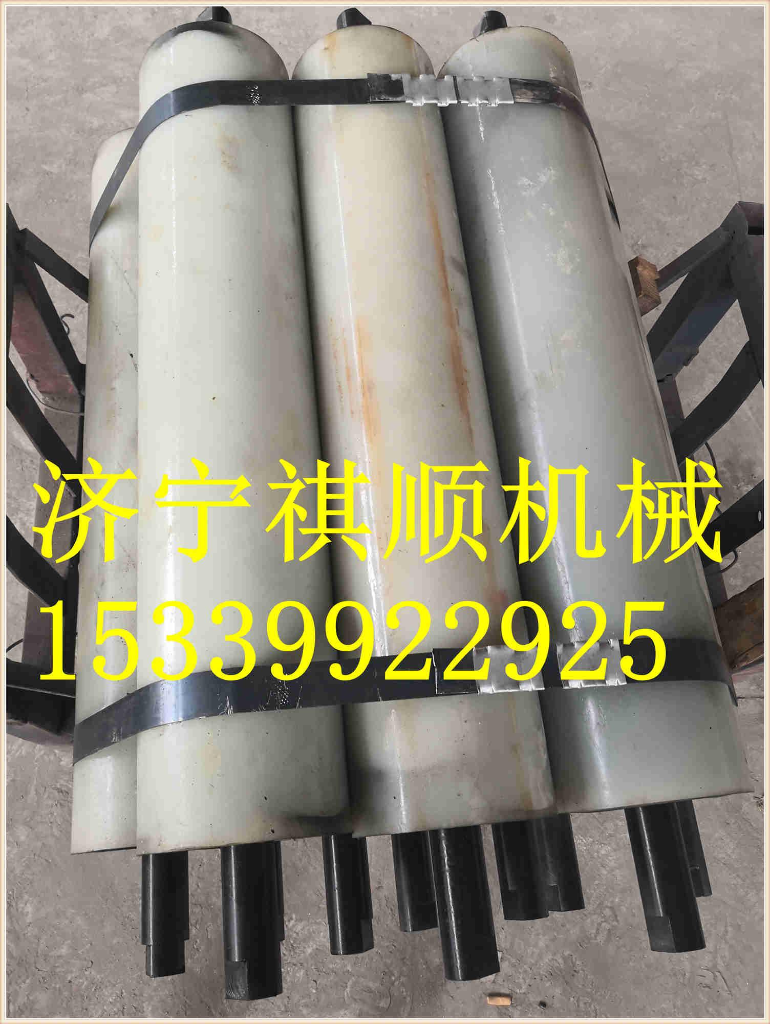 GLLD1000/7.5链带给料机聚氨酯托辊 重型承重托辊