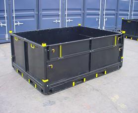 苏州金属箱生产厂家 金属周转箱物流箱非标定制