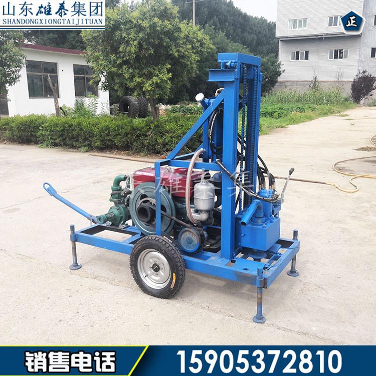SJZ-350CY轮式柴油液压打井机 工厂打井 工地打桩