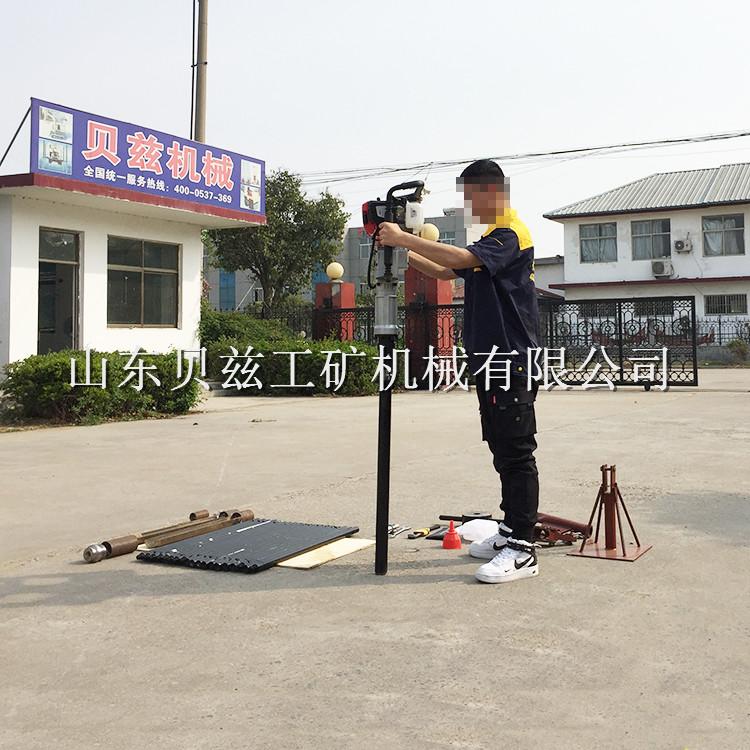 BZ-3T土壤取样钻机 便携手持式岩土工程勘察钻机