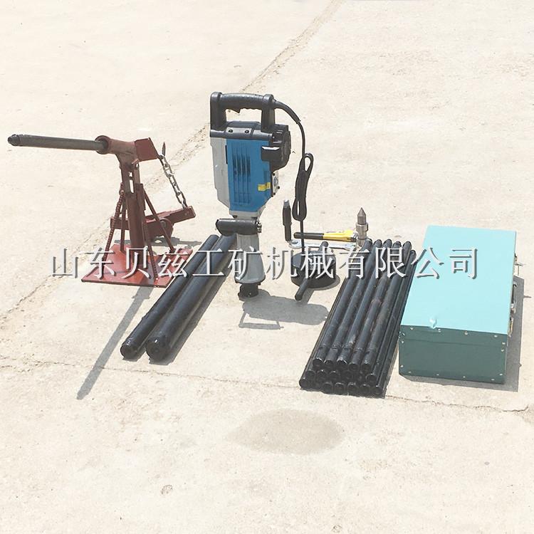 便捷式电动取土钻机 岩土工程勘察环境土壤调查钻机 结实耐用
