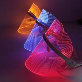新款LED美容仪光谱美容面罩光子嫩肤仪美容仪家用面膜机厂家