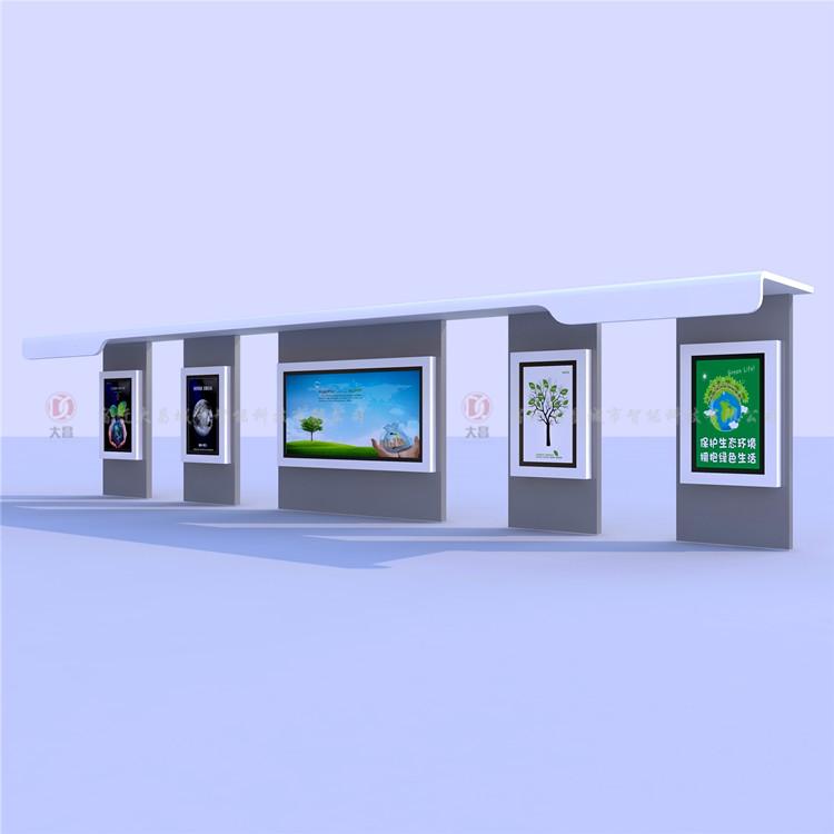 公交车站候车亭灯箱 户外广告牌厂家生产定制