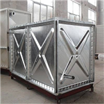 镀锌钢板水箱 地埋水箱 装配式热镀锌水箱 消防水箱 水箱