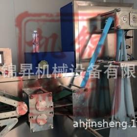 锦昇JS-800医疗中单无纺布纸折叠机全自动压花复合折叠设备