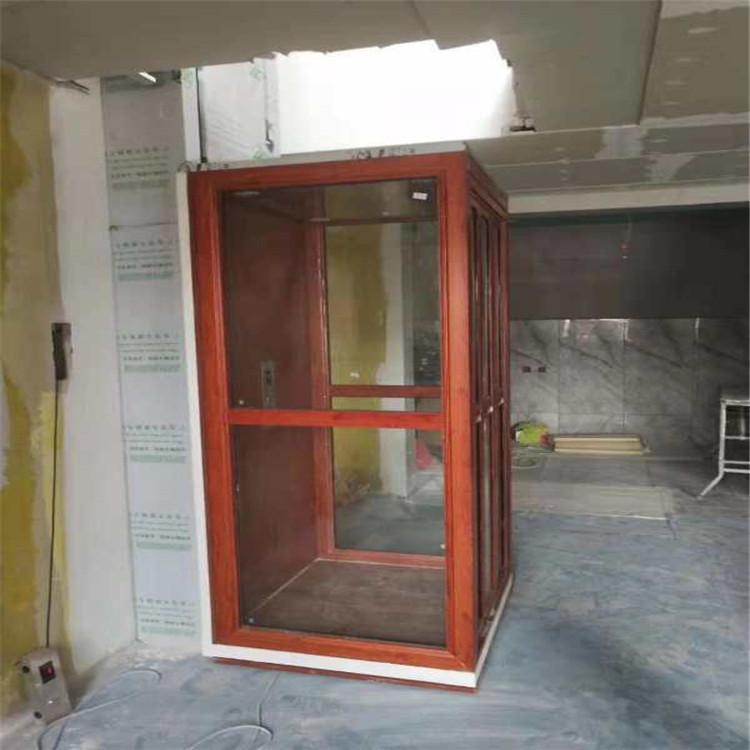 厂家定制别墅电梯室内升降液压静音家用电梯液压小型家用观光电梯